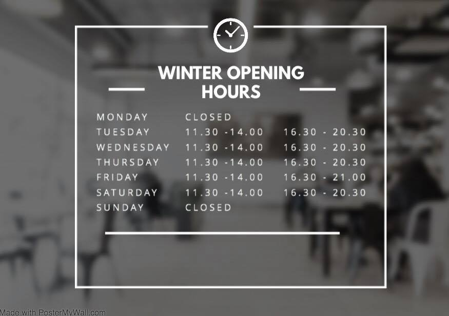 lakeside winter hours